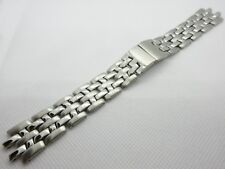 AMADEUS BRUSHED/POLISHED STAINLESS STEEL WATCH STRAP BUTTERFLY DEPLOYMENT CLASP