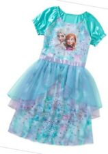 Disney Frozen Elsa Anna Night gown dress Short Sleeve 6/6x. 100% Authentic