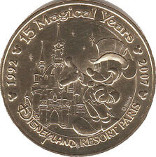 77 DISNEY MICKEY MAGICAL MÉDAILLE MONNAIE DE PARIS 2008 EVM1 JETON TOKEN COINS