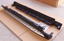 Pour MERCEDES GL X166 2012+ Side Steps Marchepieds Set-avec DEL