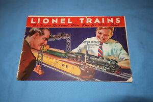Original Lionel Pre-war 1934 Consumer Catalog.