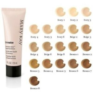 Mary Kay TimeWise Liquid Foundation Luminous Wear Choose Your Color