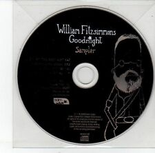 (EH20) William Fitzsimmons, Goodnight sampler - 2009 DJ CD