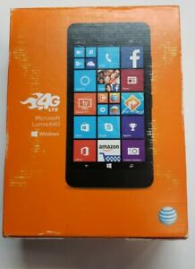 NEW never been opened Microsoft Nokia Lumia 640 LTE AT&T Cricket Black *SEALED*