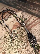 Silpada N0940 HTF Rare Necklace .925 Peridot+Pearl