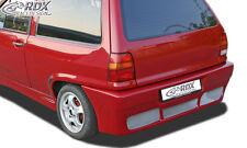 RDX Stoßstange VW Polo 86c 2f Steilheck mit Kennzeichenmulde Heck Schürze Hinten