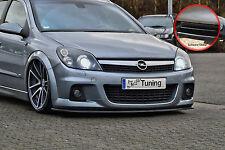 Spoilerschwert Frontspoiler ABS Opel Astra H OPC-Line 2 ABE schwarz glänzend