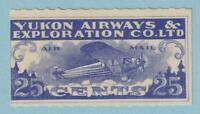 CANADA - YUKON AIRWAYS CL42  MINT NEVER HINGED OG ** NO FAULTS EXTRA FINE!