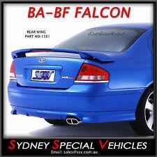 BRAND NEW REAR WING BOOT SPOILER XR8 XR6 STYLE FOR BA BF FALCON ABS XR SEDAN