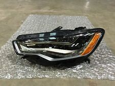 12 13 14 15 Audi A6 S6 Headlight LH Left Side LED Headlamp OEM
