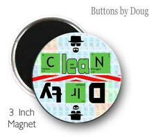 Dishwasher Magnet Breaking Bad Inspired  to Let U Know When The Dishes Are Clean