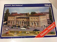 """POLA 654 HO Bausatz Bahnhof """"Bad Dürkheim"""""""
