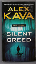 SILENT CREED by ALEX KAVA 1st POCKET BOOKS PB 2016 A RYDER CREED MYSTERY