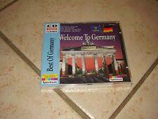 Welcome to Germany ! Seltene Musik CD Ausgabe mit 24 seitigen Reiseführer ! Neu