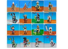 PLAYMOBIL  KING DWARF HEADMASTERS NORTH  PIRATE INDIAN BRITISH KNIGHTS NEW ROMAN