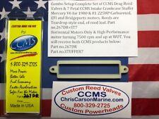CCMS Mercury Drag Reed & Stuffer Kit 1980-81HP Bridgeport 225hp PN.267DR+ST7