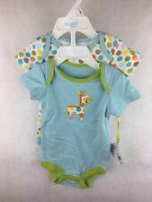 NWT Happi 2 Pack Bodysuits Giraffe Polka Dot Size 0 / 3 Months