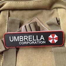 RESIDENT EVIL UMBRELLA CORPORATION 3D PVC ARMY MORALE CHEST RUBBER PATCH