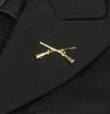 Coppia di'insegne per Ufficiale infanterie US WW2 (riproduzione)