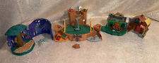 Harry Potter Polly Pocket lot Weasley Burrow Whomping Willow Quidditch Set