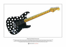 Buddy guy's polka-dot stratocaster limited edition fine art imprimé A3 taille