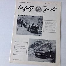 Safety Fast MG Car Club Magazine Ian Davidson Eddie Kirk May 1980 070217nonrh