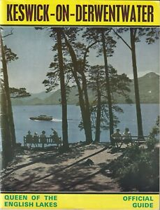 KESWICK LAKE DISTRICT 1971/2 Official Guide information illustrated adverts