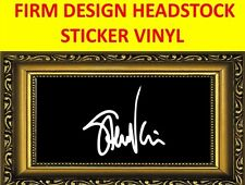 STICKER FIRM WHITE STEVE VAI WHITESNAKE VISIT OUR STORE WITH MANY MORE MODELS
