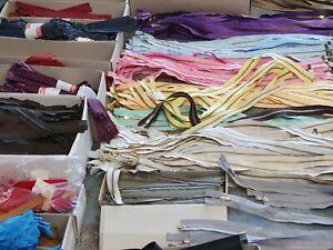 50 Stück Reißverschlüsse MIX verschiedene Farben & Längen 0,10€ / Stück