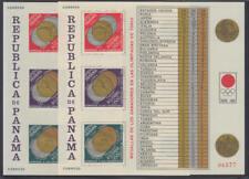 Panama - Michel-Nr. Block 31 A + B postfrisch/** (Olympische Sommerspiele 1964)