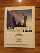 Tai Chi A Way Of Centering & I Ching Collier 1970 Paperback Alan Watts EX