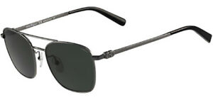 Salvatore Ferragamo Polarized Men's Squared Aviator Sunglasses SF158SP 015 Italy