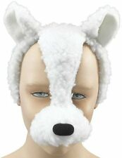 Lamb Animal Face Mask With Sound FX Fancy Dress Costume Accessory P2523