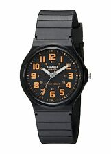 Casio Men's Black Resin Watch, Analog, Water Resistant, MQ71-4B