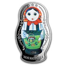 2016 Solomon Islands 1 oz Silver Proof Matryoshka Nesting Doll - SKU #104917