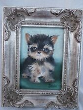 MOST ADORABLE PORTRAIT OF A TINY TEACUP PUPPY DOG ON EBAY MUST SEE PICS YORKIE?