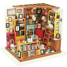 Doll House DIY Book Shop With Furniture 1:24 scale