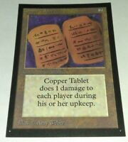 1x Collector's Edition BETA Copper Tablet MTG CE MAGIC THE GATHERING LP
