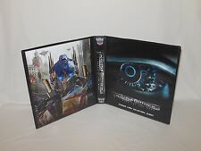 Custom Made Transformers Dark of the Moon Trading Card Binder Graphics Only