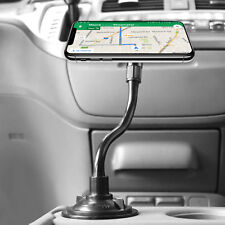 Universal Car Cup Mount Flex Gooseneck Cell Phone Magnetic Holder for iPhones