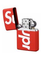 Supreme Zippo Lighter Red SS18 Box Logo SS18 NEW Box Logo Classic