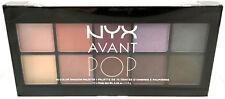 NYX Avant POP 10 Color Shadow Palette New & Sealed APSP03 - Nouveau Chic