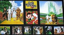 Wizard of OZ Follow YELLOW BRICK ROAD Emerald City Pillow PANEL Fabric 2/3 YD
