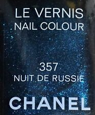 chanel nail polish 357 NUIT DE RUSSIE rare limited edition vintage