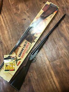 Vintage Edison Giocattoli Montecarlo Cal .12 Italy Toy Cap Double Barrel Shotgun