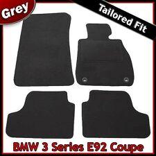 BMW SERIE 3 COUPE E92 2006-2013 2-Occhielli montati su misura moquette tappetini Grigio
