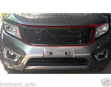 FOR NISSAN FRONTIER NAVARA NP300 2013 14 15 16 17 FRONT BLACK NET GRILL GRILLE