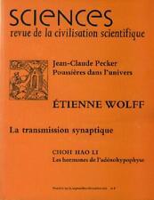 Sciences Revue de la Civilisation Scientifique No 74 – 75 ETIENNE WOLFF PECKER
