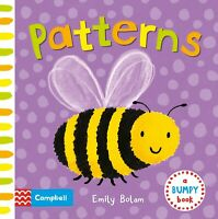 Pattern Bumpy Textured Book for Babies and Toddlers, New