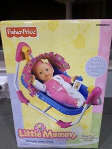 Fisher price little mommy cradlette